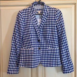 NWT! J.crew linen/cotton blazer